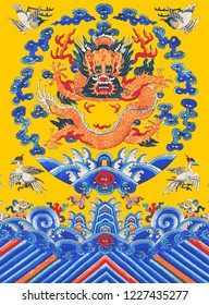 Dynasty Emperor Golden Dragon