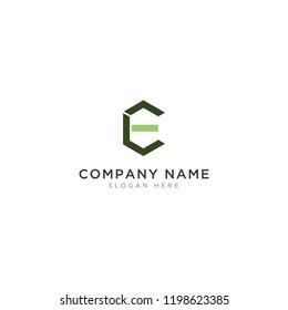 E C L letter Logo Template Design Vector, Emblem, Design Concept, Creative Symbol, Icon