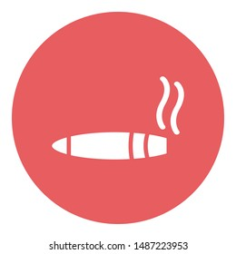 E cigarette, ecig Vector icon which can easily modify or edit
