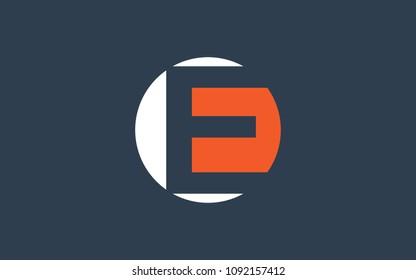 E EE Letter Initial Logo Design Template