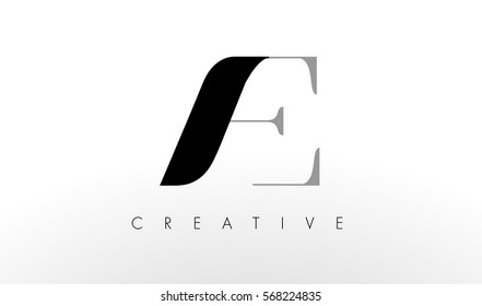 A E Letter Logo Design. Creative Modern AC Letters Icon Illustration.