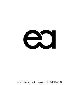ea lowercase logo black interrelated