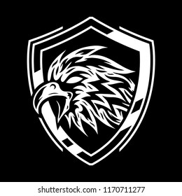 Eagle Badge Vector art