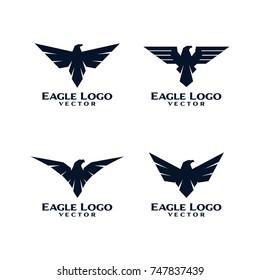 Eagle Bird Logo Template Vector