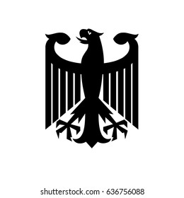 Eagle, coat of arms of Germany