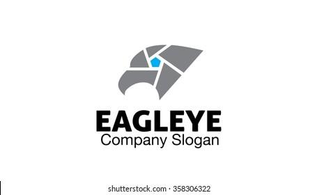 Eagle Eye Logo Symbol Design Illustration