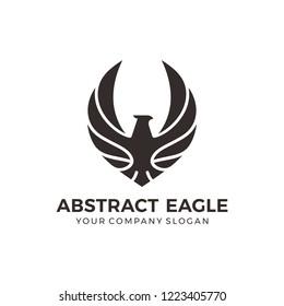 Eagle, falcon, bird logo design