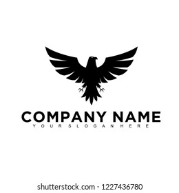 Eagle, falcon, bird logo design, Modern Template, Icon Vector