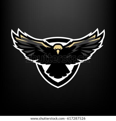Eagle Flight Logo Symbol Stock Vector Royalty Free 617287526