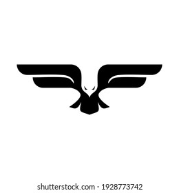 eagle fly logo negative space eagle logo