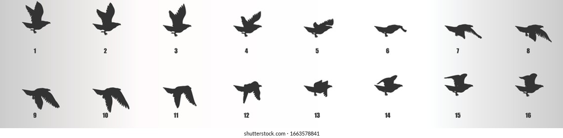 Bird Flying Animation Images Stock Photos Vectors Shutterstock
