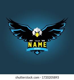Eagle Gaming Logo Vector Design