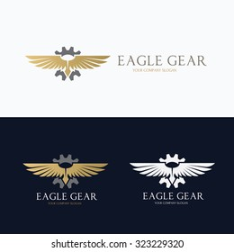 Eagle Gear Logo Template
