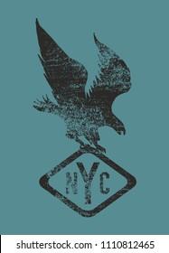 Eagle graphic design vector art