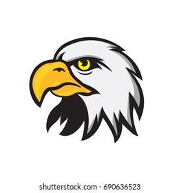 eagle head cartoon
