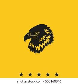 Eagle head logo.