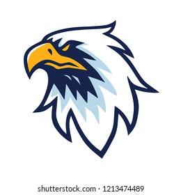 Eagle Head Logo Vector Design Template Icon