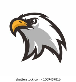 eagle head logo/icon vector illustration mascot