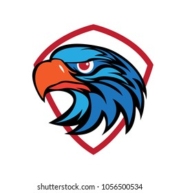 eagle head security logo