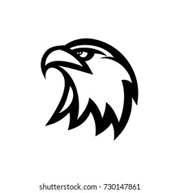 eagle head vector logo mascot