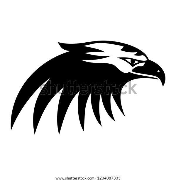 Eagle Head Vector Logo Template Hawk Stock Vector (Royalty