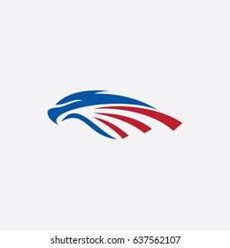 eagle icon logo animal