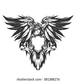 Eagle illustration