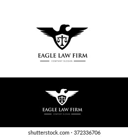 Eagle Law Firm Logo Template