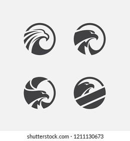 eagle logo design inspiration. eagle pack