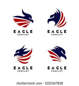 Eagle Logo Design Vector