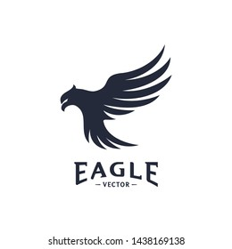 Eagle Logo Design Vector. Eagle Logo Design Concepts Template. Icon Symbol