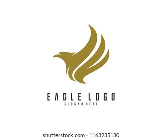 Eagle logo design vector, Illustration