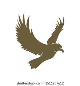 Eagle logo design vector. Eagle logo template illustration