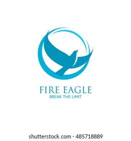 Eagle Logo design vector template. Creative Wild Bird logo. Vector Illustration
