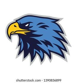 Eagle Logo Mascot Vector Icon Cartoon Template