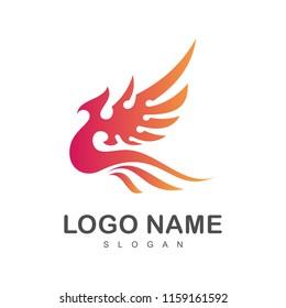 eagle logo, phoenix logo template