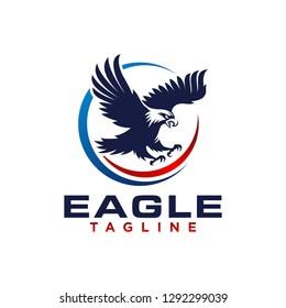 Eagle Logo Template