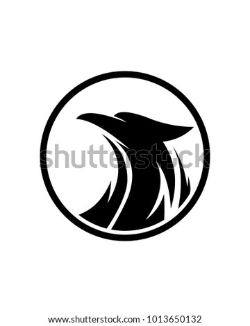 eagle logo template stock vector royalty free 1013650132