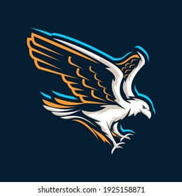 eagle logo vector symbol icon