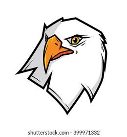 Eagle Mascot Logo, Character Illustration