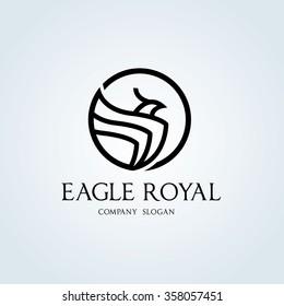 Eagle Royal Logo Template