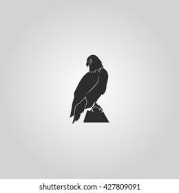 Eagle silhouette icon