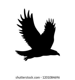 eagle silhouette logo