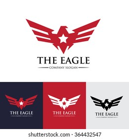 Eagle Star Logo Template