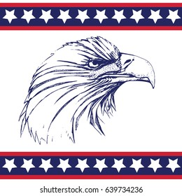 the eagle, symbol of the United States