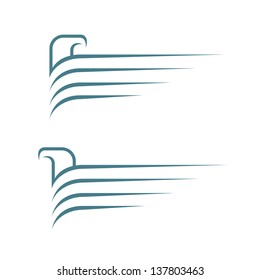 Eagle symbols - vector illustration