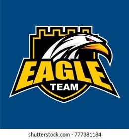Eagle Team Logo Vector