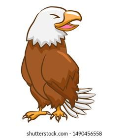 Eagle vector clipart graphic design