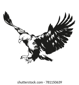 Eagle vector design.