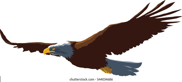 eagle. vector Eps